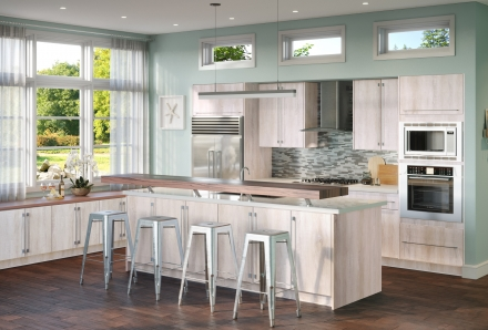 Riviera Oyster Shell Kitchen