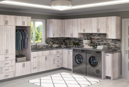 Riviera Oyster Shell Laundry Room