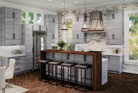 Torino Grey Wood Kitchen