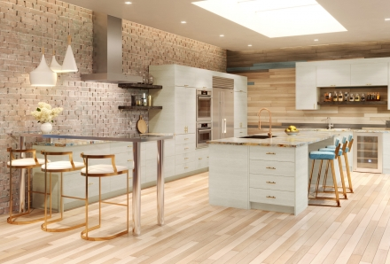 Torino White Pine Kitchen