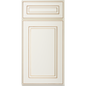 York Antique White Sample